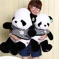 50 cm panda Colorido gravata borboleta de Pelúcia Brinquedos criança Brinquedos Do Bebê urso dos desenhos animados da Forma Animal de pelúcia Travesseiro boneca de presente de aniversário