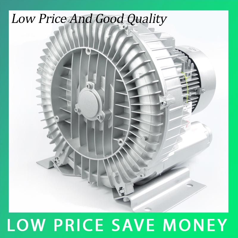80m3/H Pool Vacuum Pump Oxygen Pump Aerator 370W Single Phase High Pressure Electric Air Blower vacuum pump inlet filters f007 7 rc3 out diameter of 340mm high is 360mm