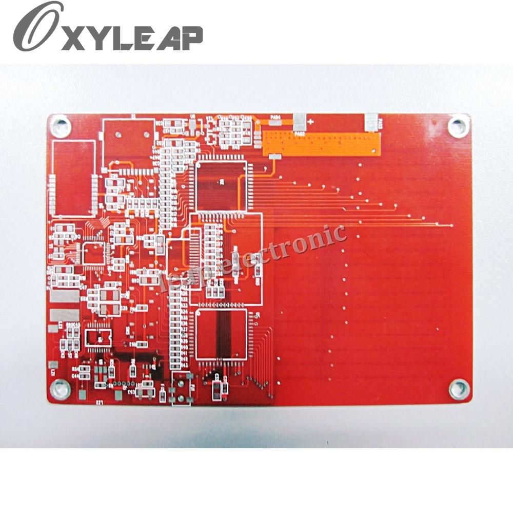 FR4 10 sluoksnių spausdintinė plokštė / raudona soldermask pcb / etcing pwb