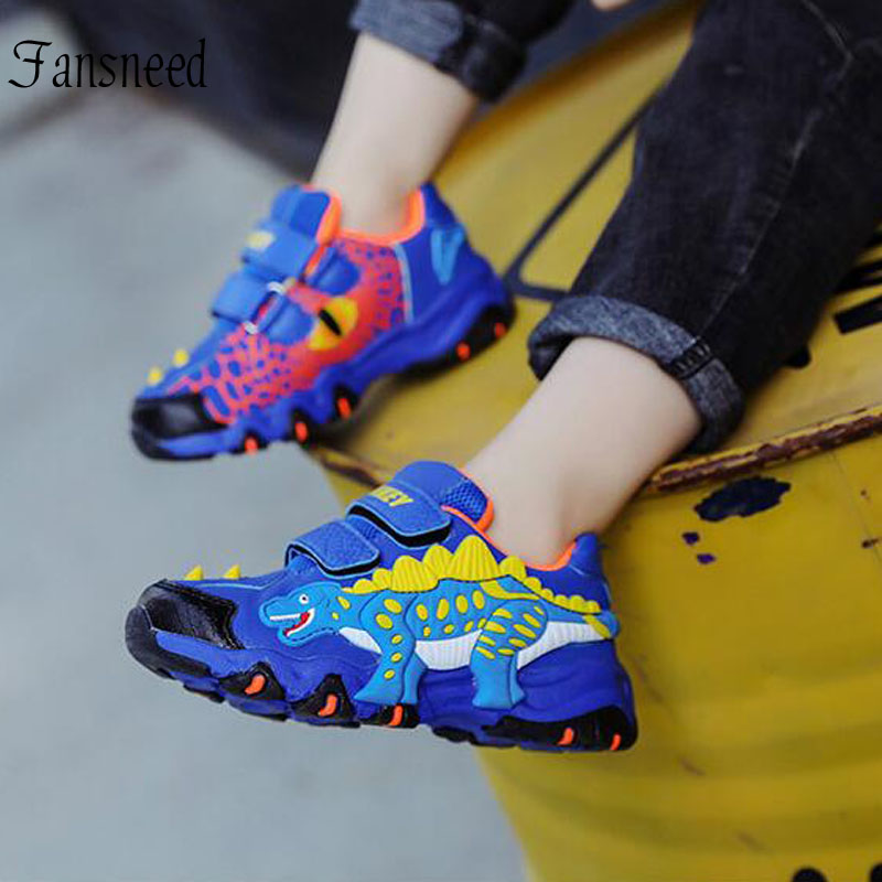 children Cartoon shoes 2019 spring new boys sports shoes