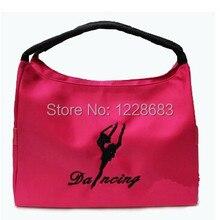 Вышитая детская танцевальная Сумка Женский взрослый танцевальный рюкзак детское ведро балетная сумка для танцев балетные сумки