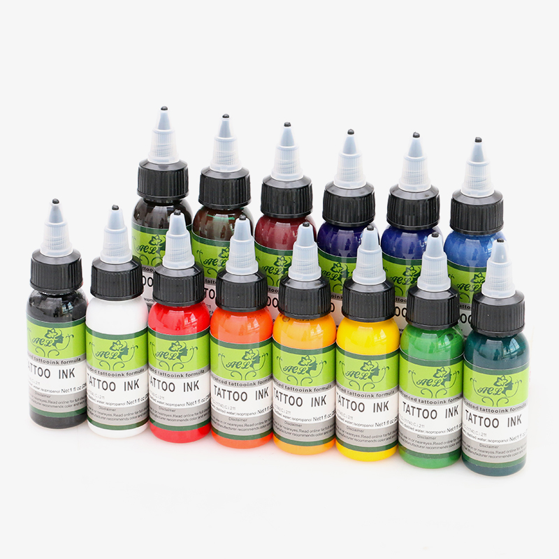 14pcs hi German brand tattoo ink set pigments permanent makeup 30ml cosmetic color tattoo ink for eyebrow eyeliner lip14pcs hi German brand tattoo ink set pigments permanent makeup 30ml cosmetic color tattoo ink for eyebrow eyeliner lip