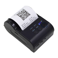 Bluetooth Thermal Ticket Printer 58mm POS Printer Thermal Receipt Ticket Barcode Printer Ticket Machine for IOS Android Windows