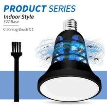 Светодиодсветодиодный лампа ловушка для комаров с usb e27 8