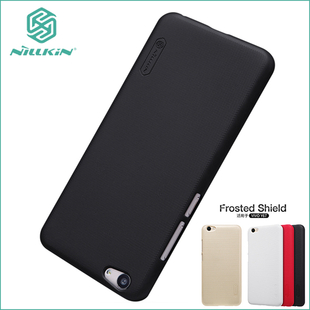 For Vivo Y67 vivo V5 Case Nillkin Cover Hight Quality Super Frosted Shield For Vivo Y67 +Screen Protector 5.5''