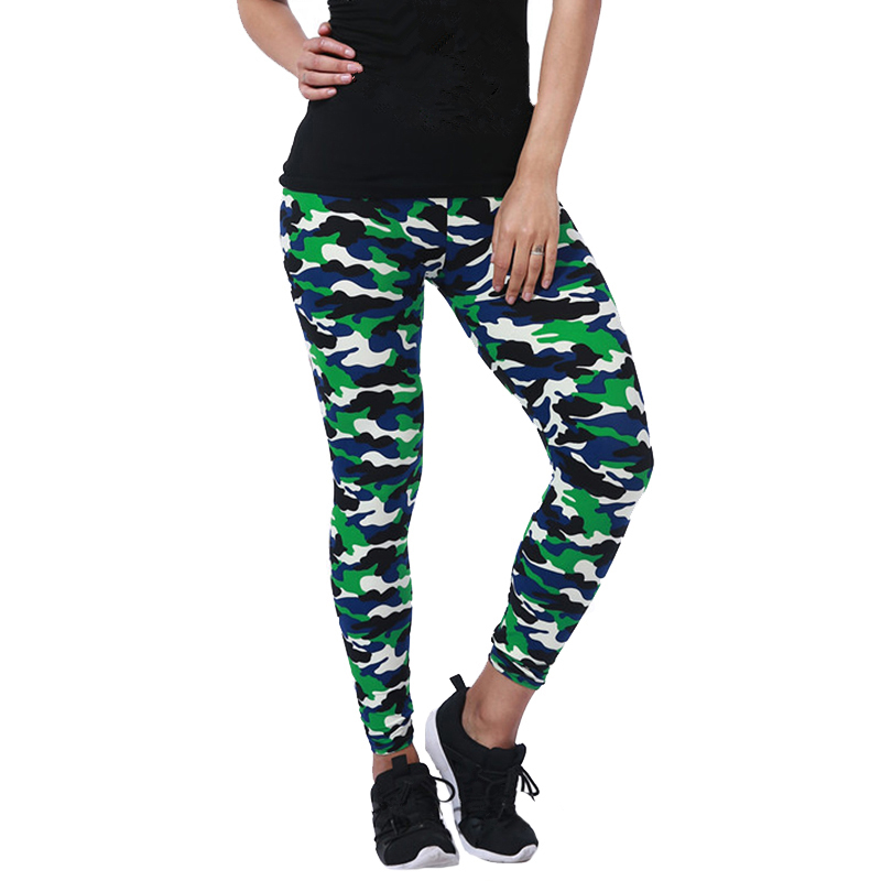 CHSDCSI Women   Leggings   High Elastic Skinny Camouflage   Legging   Spring Autumn Leggins Slimming Pencil Womens Fitness Leisure Pant