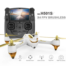 (In stock)100% Original Hubsan X4 H501S FPV Quadcopter Drone with 1080P Camera GPS Follow Me & Return Home