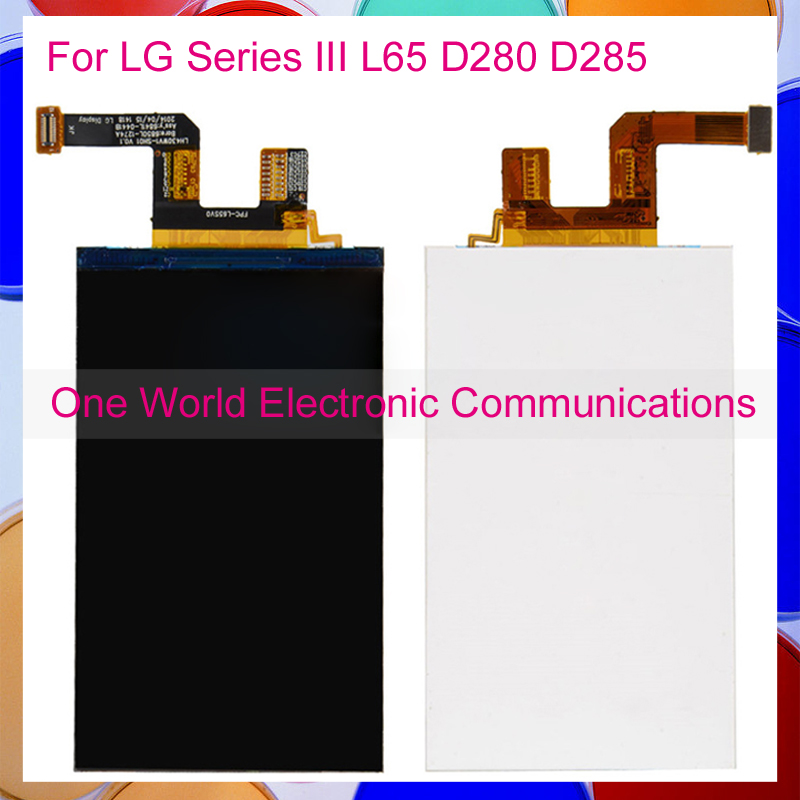 4.3 High Quality Tested Phone For LG Series III L65 D280 D285 LCD Display Screen Monitor Panel [Tracking Code] [Free Shipping]
