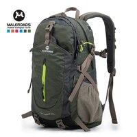 Maleroads 40L Travel Backpack Cycling Climbing Rucksack Masculina Laptop Daypack Trekking Climbing Back Bags For Men Women 2019