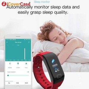 Image 4 - Для Xiaomi Mi 8 pro 9 se 6 5 a1 a2 lite 5s plus pocophone F1 водонепроницаемые Смарт часы браслет с измерением кровяного давления и пульса трекер