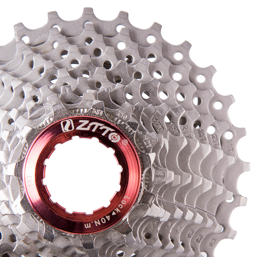 ZTTO Road Bike Bicycle Parts 11 22 S Speed Freewheel Cassette Sprocket 11-28T