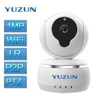 Câmera IP 720 P Wi-fi de Casa inteligente Sem Fio de segurança sistemas de alarme casa Grande Angular 2-way Discussão Night Vision speed dome câmera