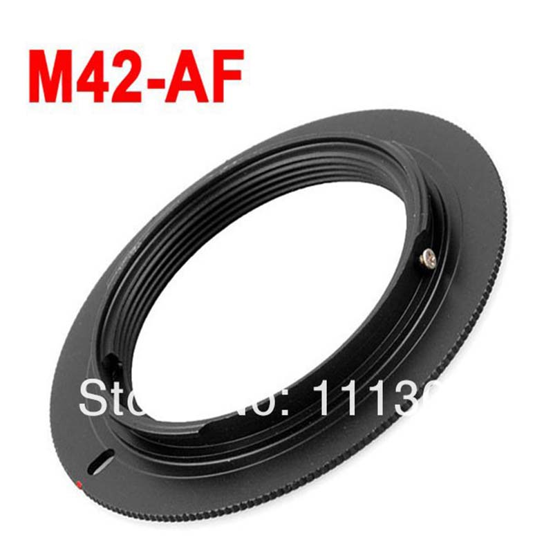 10pcs M42-AF M42 <font><b>Lens</b></font> to for <font><b>SONY</b></font> AF Mount Adapter Ring for a77 a65 a55 a33 <font><b>a390</b></font> a700 a580 camera <font><b>lens</b></font> adapter ring image