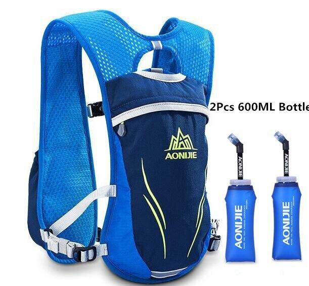 Blue 600ML Bottle