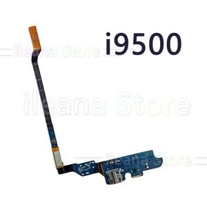 Image 2 - オリジナル usb 充電ボード充電フレックスケーブルサムスンギャラクシー S4 i9500 M919 I337 i9505 4 グラム i545 マイク部品