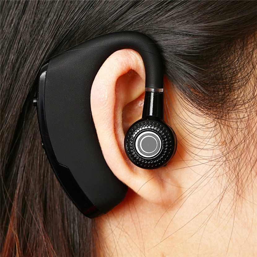 4.1 Bluetooth Headphones Business CSR Bluetooth Headset Wireless Black Stereo Earphone Hands-free Noise Reduction Headphone
