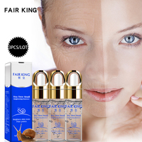 3PCS Tea Tree Snail Plant Extract Face Serum Whitening Blemish Serum Ampoules Anti-acne Rejuvenation Facial Liquid Face Care Serum
