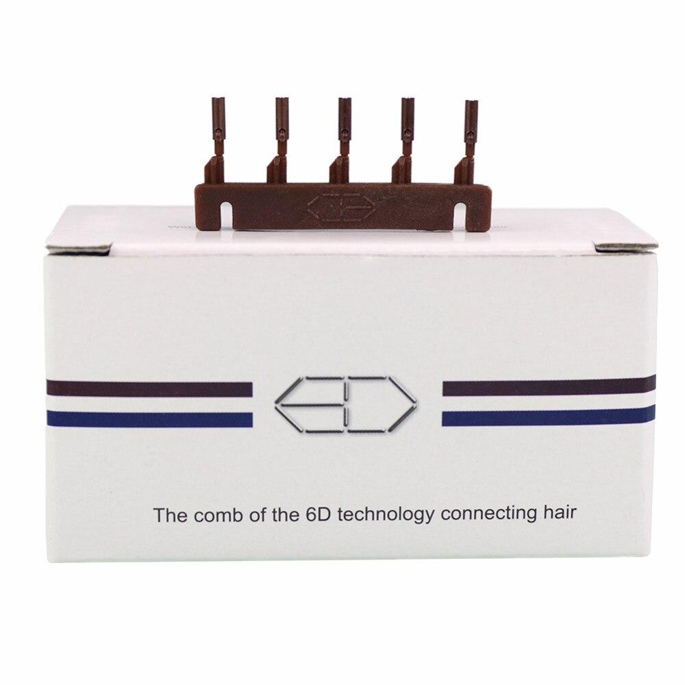 Image 5 - 40 шт./лот 6D2 Пряжка для 2 го поколения 6D машина для наращивания волос зажим для волос 6D2 инструмент для наращивания волос 6D2 Пряжка для волос-in Соединители from Пряди и парики для волос on AliExpress