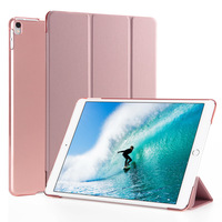 Ultra Thin Folding Stand Smart PU Leather Cover For IPad Pro 10 5 Tablet Shell Funda