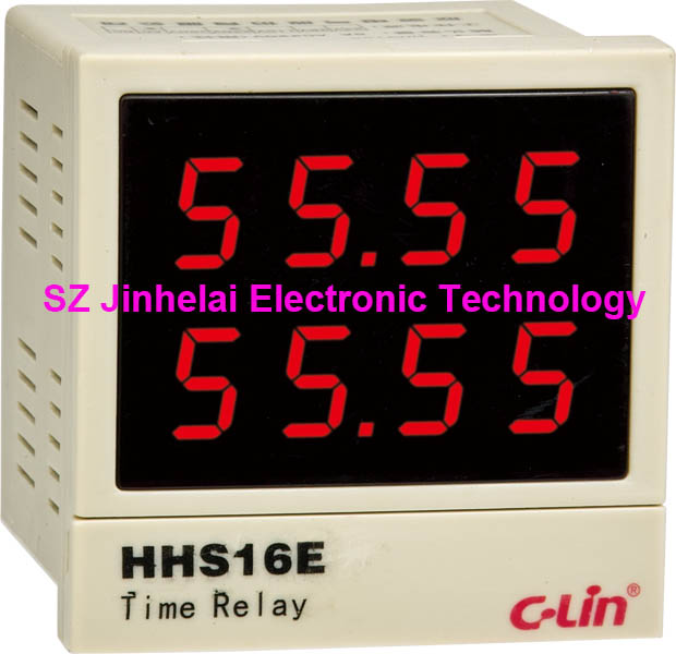 все цены на 100%New and original HHS16E C-Lin Intelligent time relay AC220V DC24V