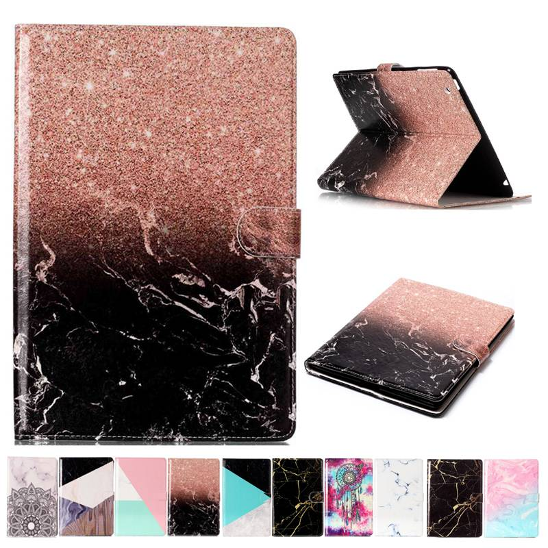 Marble Pattern Case For <font><b>Samsung</b></font> <font><b>Galaxy</b></font> <font><b>Tab</b></font> <font><b>A</b></font> A6 <font><b>10.1</b></font> 2016 <font><b>T580</b></font> T585 T580N Cover <font><b>Funda</b></font> <font><b>Tablet</b></font> Book TPU+PU Leather Shell+Film +Pen image