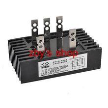 SQL-100A Amp 1000V 1200V теплоотвод 3 фазы диод металлический чехол выпрямитель моста