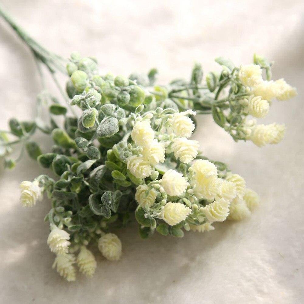 E5 2017 artificial flowers wedding decoration diy Artificial Fake Flowers Milan Yangmei Floral Wedding Bouquet Home