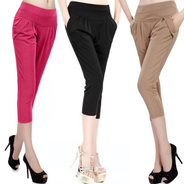 Ladies Cotton Capri Pants | Gpant