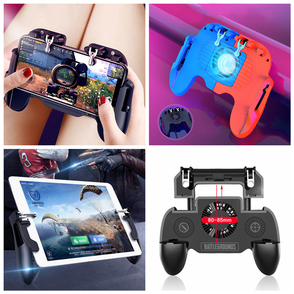 Image 3 - PUBG Mobile Game Controller for iPhone Android Phone Gamepad Trigger Aim Button L1R1 Shooter Joystick For Game Pad Accesorios-in Gamepads from Consumer Electronics