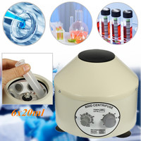 Lower speed Desktop Laboratory Centrifugal Machine Electric Centrifuge 4000rpm US/EU Plug 110V/220V 800D Timing Separation