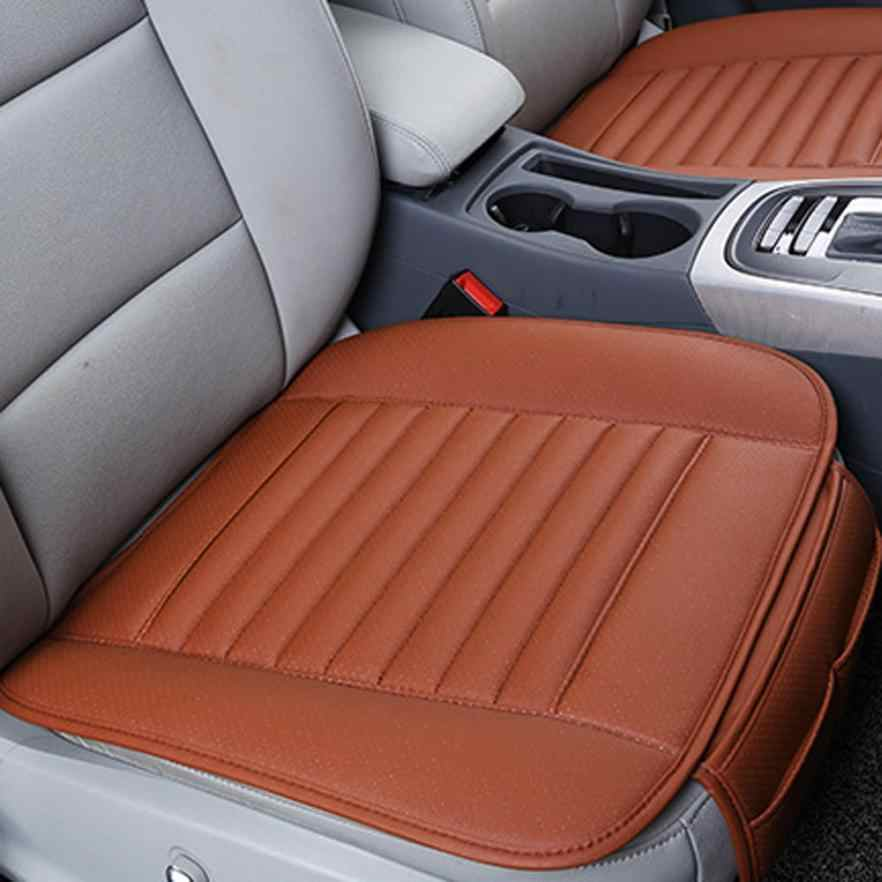 New Arrival Breathable Leather Bamboo Car Seat Cover Pad Mat Auto Chair Cushion Universal au9