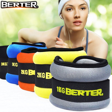 2pcs/1pair 1kg Adjustable Leg Ankle Weights Straps Strength Training Exercise