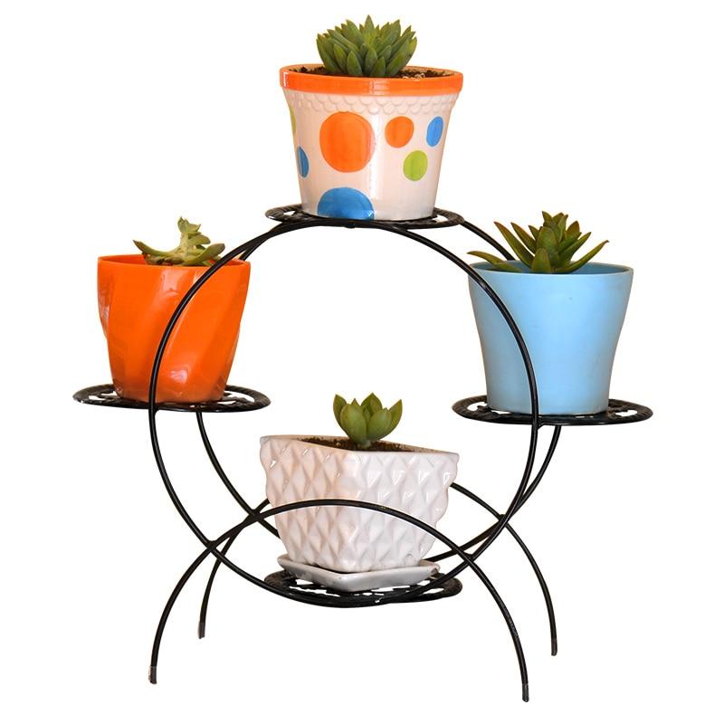 3 Tier Plant Stand Indoor Outdoor Plant Corner Shelf Flower Pot