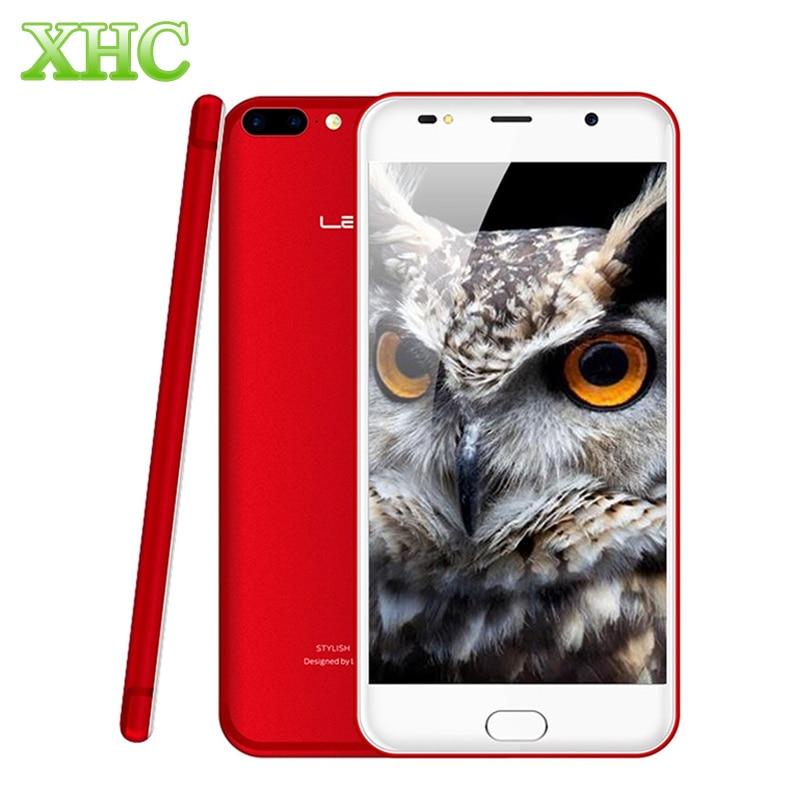 LEAGOO M7 Fingerprint Id Smarphone 5.5 inch WCDMA 3G Android 7.0 MTK6580A Quad Core Dual Back Cameras 3000mAh Mobile Phone
