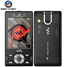Original sony ericsson w995 telefone móvel 8mp 3g wifi gps desbloqueado celular