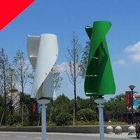Новый Windmil 1,3 м start up Зеленый Белый Оранжевый maglev ветрогенератор 600 В Вт 12 В 24 вертикальной оси ветровой турбины с MPPT контроллер