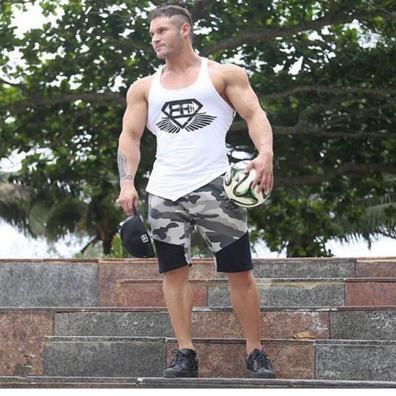 c7ecf1aae60f Shorts Men 2016 Summer Fashion Mens Shorts Casual Cotton Slim Bermuda  Masculina Beach Shorts Joggers Trousers Knee Length Shorts