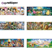 Diamond Painting Full Square/ Round Cartoon Characters Mouse Bear Princess Animal World Winnie The Pooh Daimond Painting Z136