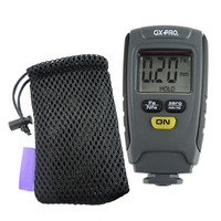 1.25mm Automotive Coating Thickness Meter Portable Car Paint Thickness Tester Digital Thickness Guage with Pouch Fe/NFe Mode