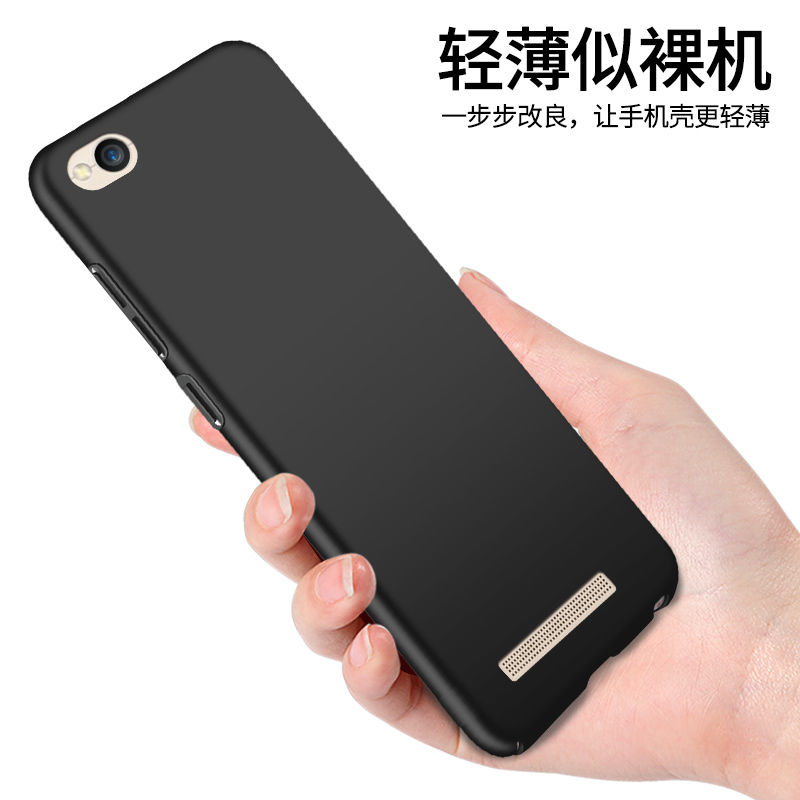 Luxury Hard Back Plastic Matte Full Case forXiaomi Redmi 4A 4 A Phone Bumper Fitted Case for Xiaomi Redmi <font><b>A4</b></font> Red <font><b>mi</b></font> 4A image