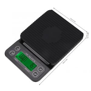 Image 2 - Digital Drip Coffee Scale with Accurate Timing High Precision Electronic Scale Multifunction Kitchen Bakery Food Scale