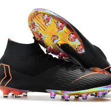 04c4ad07c41 Wholesale Superfly VI 360 Elite AG Soccer Shoes Mens High Ankle Football  Boots Cleats Free Shipping