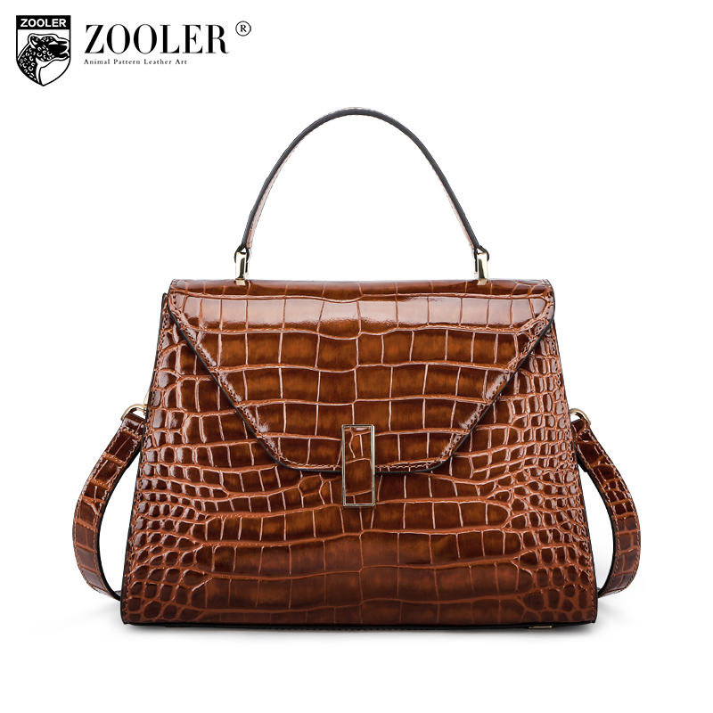 ZOOLER 2018 New Arrival Genuine Leather Bags Woman Handbags Top-Quality Fashion Design Ladies Shoulder Bags Large Capacity y109 zooler 2017 new quality