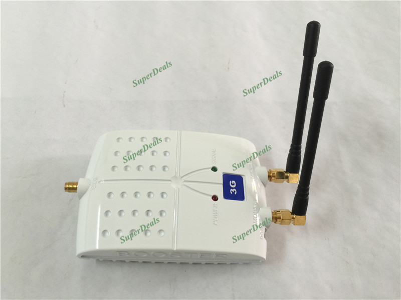Mini 3G Booster 2100MHz Mobile Phone Signal Repeater , WCDMA UMTS 3G repetidor de sinal celular Signal Booster Amplifier