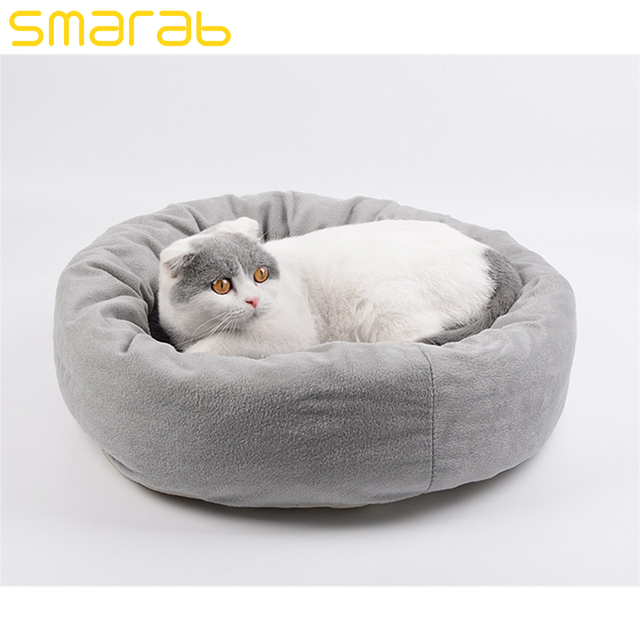 Cat Houses and Pet Bed Sleeping Kitten Cat Beds Mats Gray Pet Products  Sleeping Bag Breathable Warmth Winter Hamacas Gato