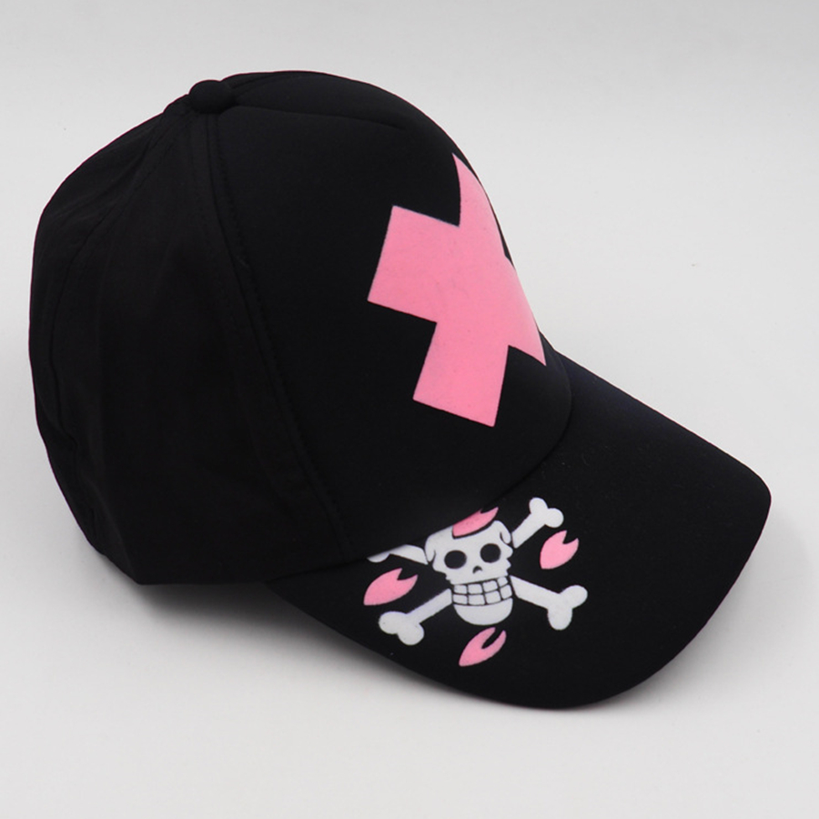 d5a9b383e6f 2018 New Anime One Piece Tony Tony Chopper Cosplay Hat Cherry Blossom Pirate  Flag Logo High quality Men Women Hat-in Boys Costume Accessories from  Novelty ...