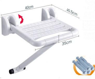 Bagno pieghevole sedia sgabello sgabello sedile per doccia doccia a