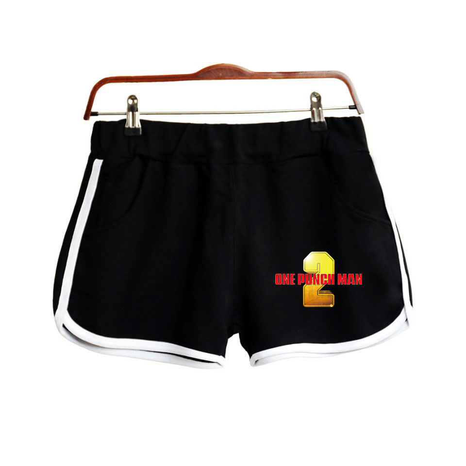 ONE PUNCHMAN Print Popular Hip Hop Summer Shorts Fashion Hipster Shorts Casual High Street Hipster Basic Summer Shorts Moletom