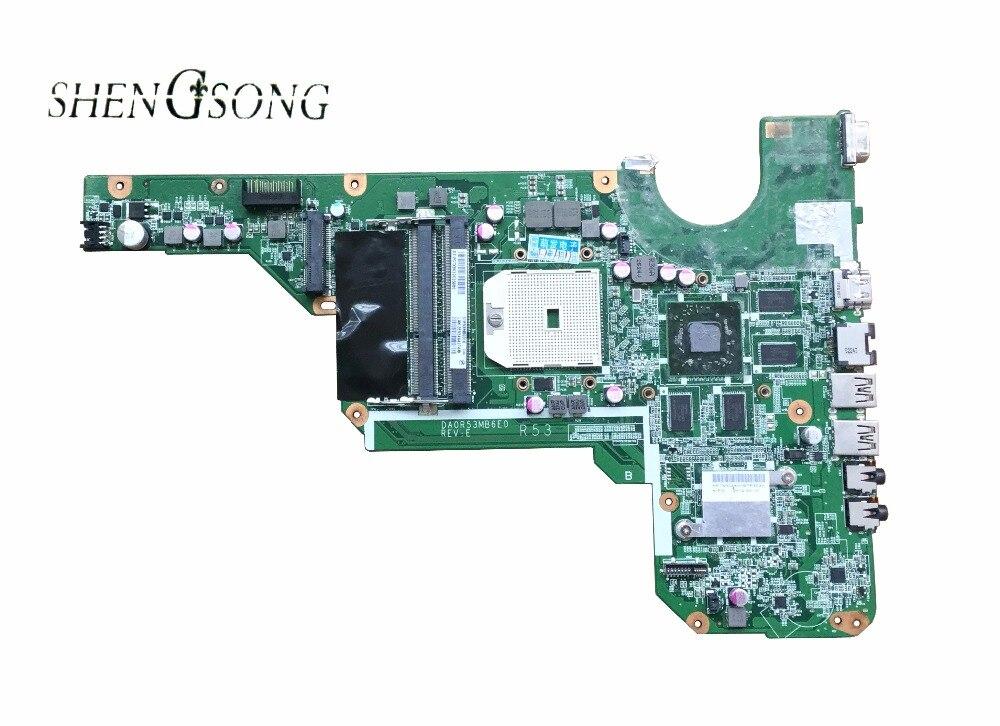 683030-501 Livraison Gratuite Origine G4 G6-2000 G6 Carte Mère 683030-001 DA0R53MB6E0 DA0R53MB6E1 HD7670/1G 100% entièrement testé