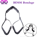 Auxiliary Sex Games Accessories Fetish Bed bdsm Leather Bondage Restraints Neck Ankle AnkleCuff SM Straps Erotic sex Products Se